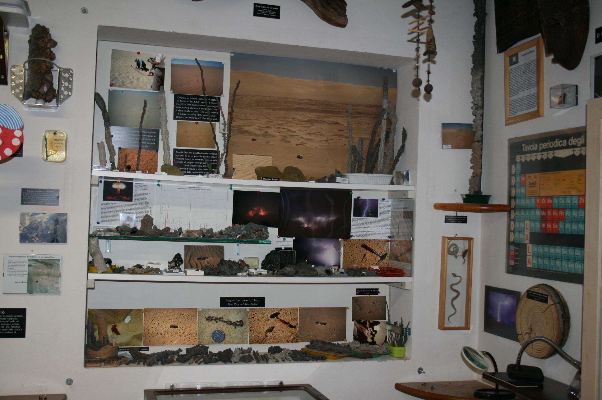 La collezione di fulguriti