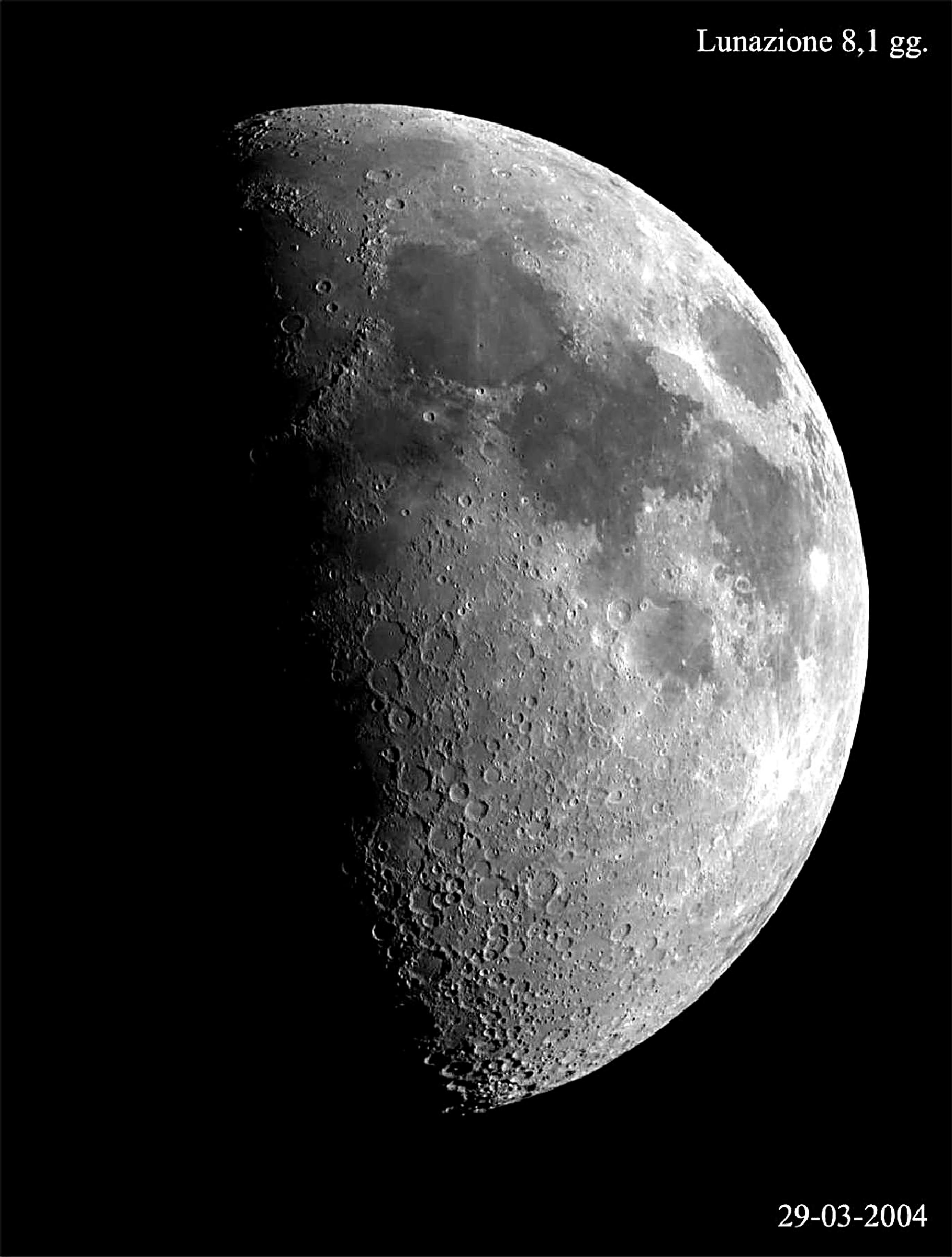 Luna 8,1 giorni