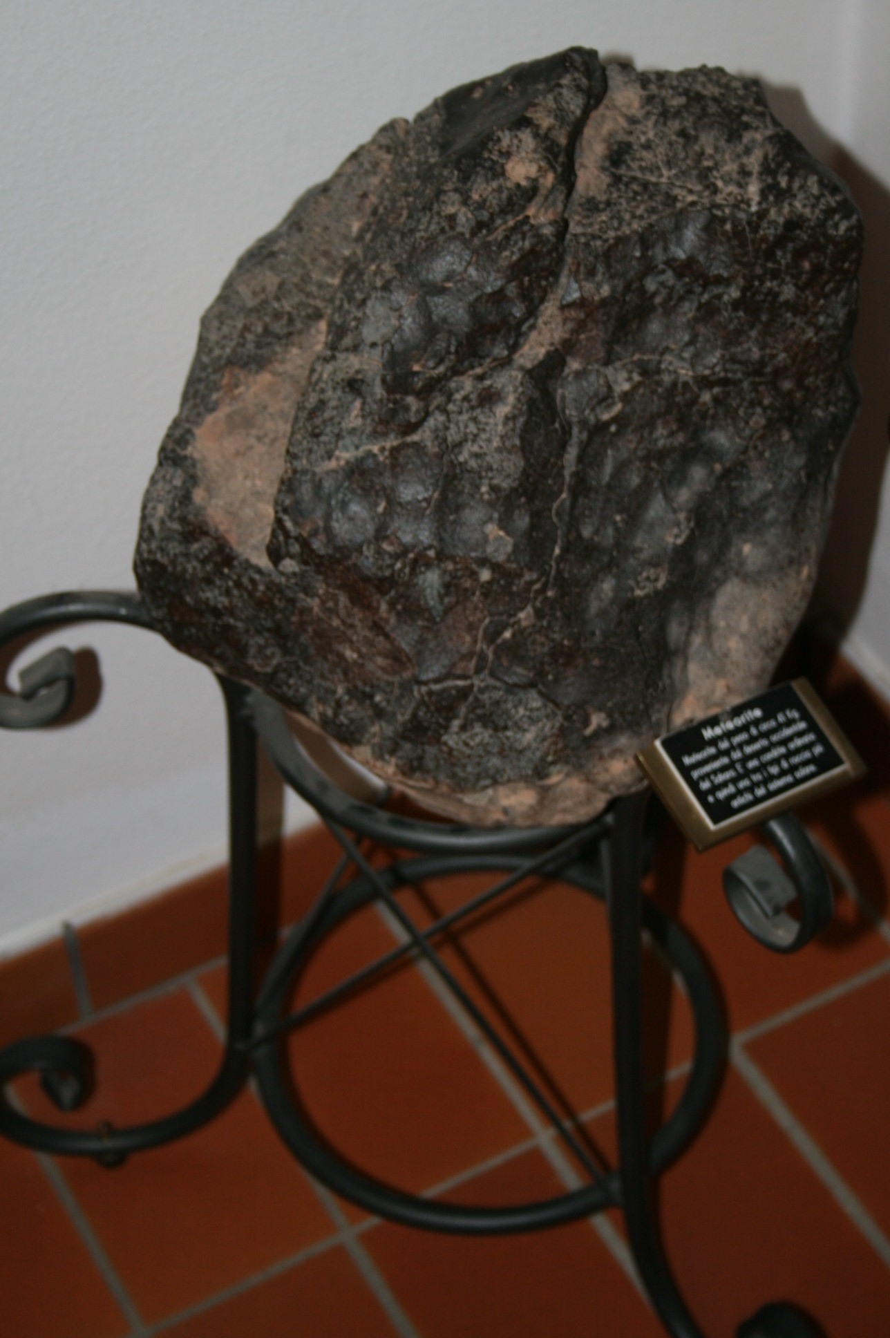 Meteorite di 80 kg